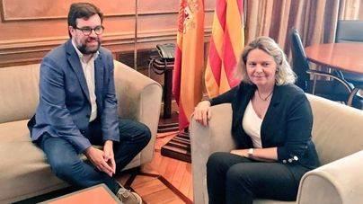 Noguera plantea mejorar la 'coordinación entre la Policía Nacional y Local' y su presencia en la Platja de Palma