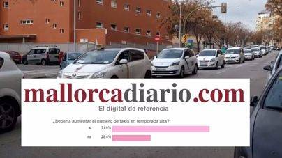 Tres de cada cuatro lectores piden más taxis en verano