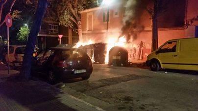Un incendio en Santa Catalina causa revuelo entre los vecinos