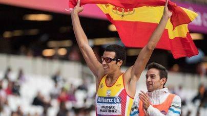 Joan Munar, plata en los 200 metros en el Mundial de atletismo paralímpico