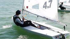 Pep Cazador queda en la posición 15 en el Mundial Juvenil de Laser 4.7
