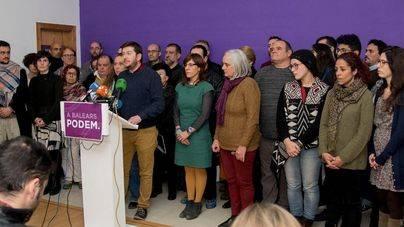 Los críticos de Podem acusan al partido de