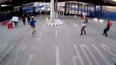 Herido un policía en Melilla por un hombre al grito de