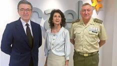 Los empresarios reconocen la alta especilización de los militares mayores de 45 años