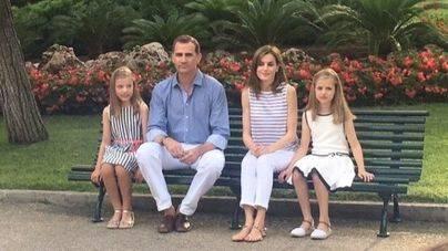 Los Reyes y sus hijas realizarán su posado el lunes en Marivent
