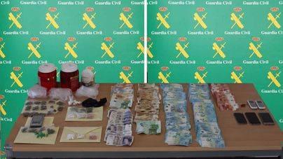 Nueve personas detenidas por tráfico de drogas en Punta Ballena