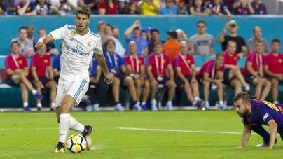 Marco Asensio se luce en Miami en el primer 'clásico' de la temporada