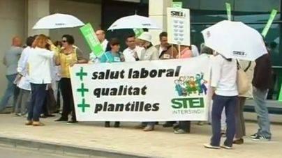 El STEI carga contra el Govern y los otros sindicatos por no exigir el catalán en Sanidad