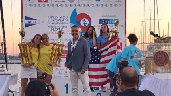 Clara Llabrés y Marta Garrido consiguen la plata en el Europeo 420