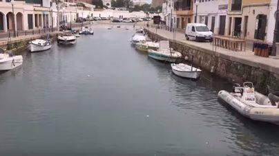 Rissaga de 75 centímetros en Ciutadella y Cala'n Busquets, Menorca