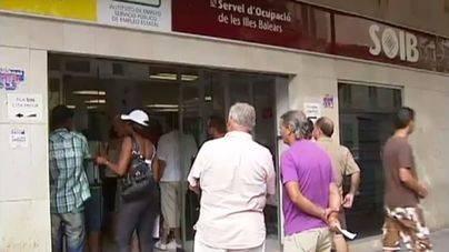 El paro interanual baja un 14 por ciento en Balears y cierra el mes de julio con 39.000 desempleados