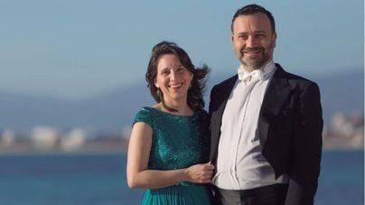 Concierto de Duet Blanco-Cortés en Nits a la Fresca de Andratx