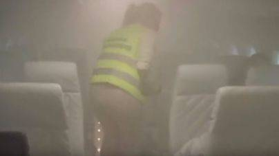 Desalojado un avión en el aeropuerto de Palma por humo en la cabina