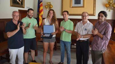 Santanyí homenajea a la medallista Aida Baucà