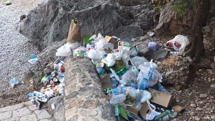Escorca enviará al Govern la factura de la retirada de basura del Torrent de Pareis