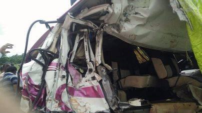 Cuatro españoles muertos en un accidente de tráfico en el sur de India