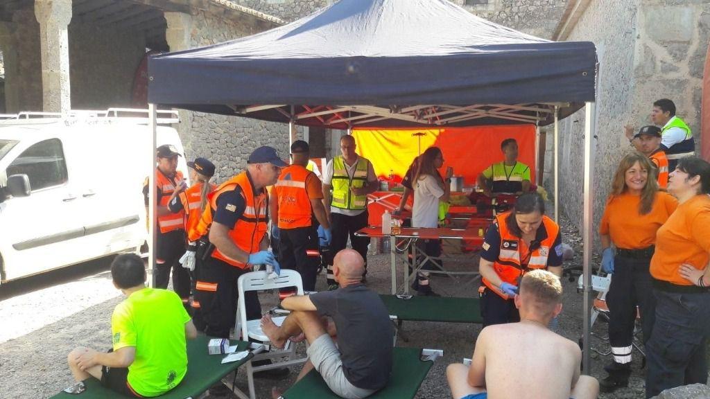 122 personas son atendidas en la 44ª edición des Güell a Lluc a Peu