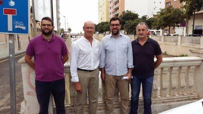 Nuevos espacios y mayor conectividad peatonal mejorarán el Pont dels Jueus en el Arenal