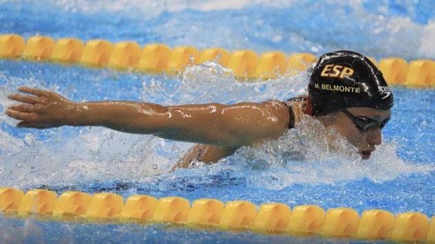 Mireia Belmonte, récord del mundo y octava medalla en Holanda