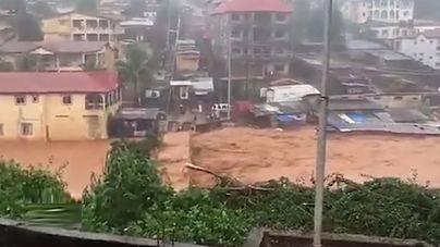 400 muertos y cientos de desaparecidos en Sierra Leona