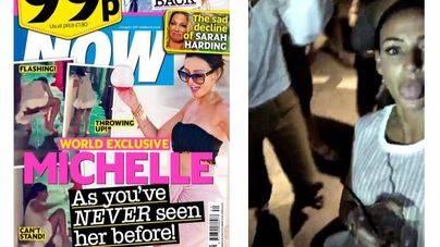 Cazan a una estrella de la TV británica vagando borracha en Magalluf