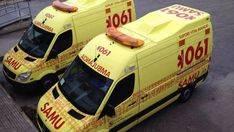 Tres heridos tras un accidente de moto en la carretera de Llucmajor
