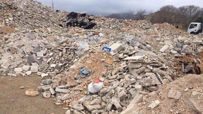 El PP pide al Consell el informe técnico para el vertido de escombros en suelo rústico