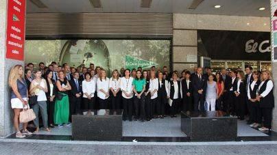 Los centros de El Corte Inglés se suman al homenaje a las víctimas de los atentados