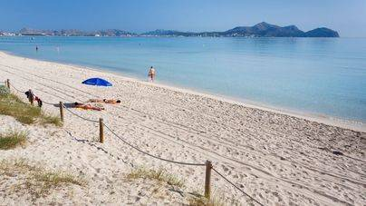 Playa de Muro es una de las mejores valoradas de todo el territorio nacional