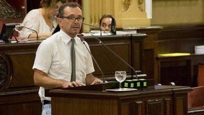 Salvador Aguilera, diputado de Podem, en el Parlament