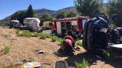 Detenido por homicidio imprudente el conductor del camión que provocó tres muertos en Sa Pobla