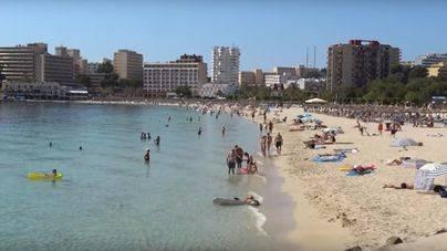 Palma y Calvià concentran las pernoctaciones en Mallorca
