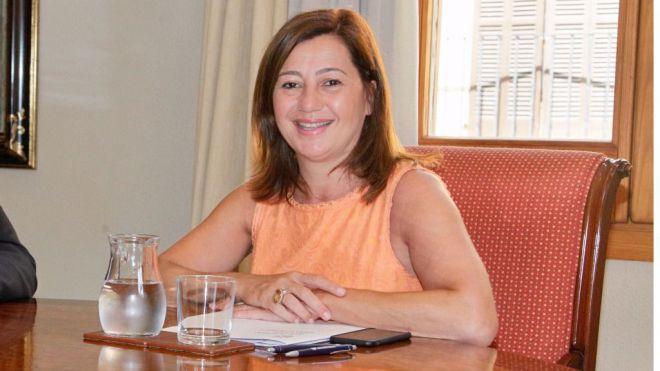 Armengol pide de nuevo la condonación de la deuda pública de la comunidad
