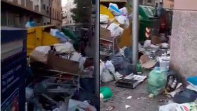 """Vecinos de Foners acusan a Emaya de """"tenerlos abandonados"""" ante la acumulación de basura"""
