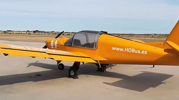 La avioneta de Hazte Oír sobrevolará este jueves Palma por la 'Ley Mordaza LGTBI'