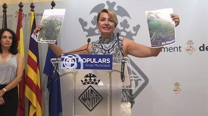 Durán advierte del estado de los torrentes del Pla de Sant Jordi y el Sequió y exige a Emaya su limpieza inmediata