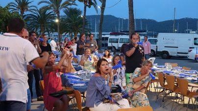 Unas 250 personas reclaman la concesión del Puerto de Andratx al Club de Vela