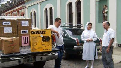 La Fundación Barceló envía 750 kilos de material médico a Nicaragua