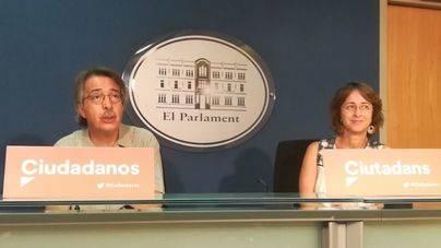 """Ciutadans no apoyará el decreto del alquiler turístico por el """"espectáculo bochornoso"""" del Govern y Podem"""