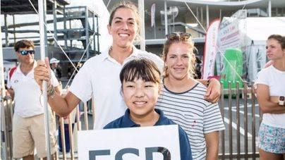 Silvia Mas y Paula Barceló compiten en Japón por el Mundial de 470 Juvenil