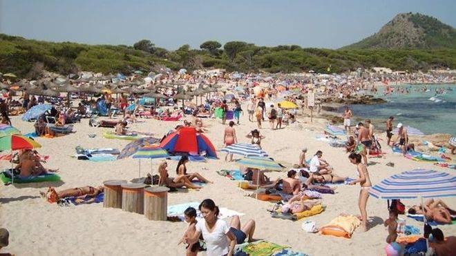 Balears recibió un 7,5 por ciento más de turistas extranjeros hasta julio