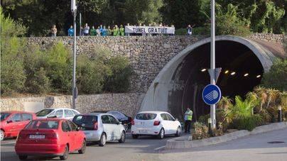 Los antipeaje piden que se rescate el túnel de Sóller