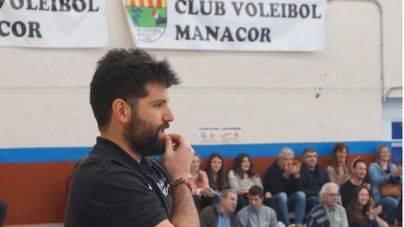 Jaume Febrer, entrenador del Club Voleibol Manacor