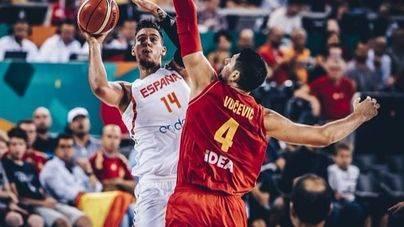 España humilla a Montenegro en su debut en el Eurobasket