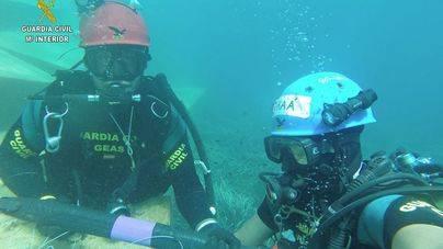 Denunciado un hombre que hacía pesca submarina en la Reserva Marina de Llevant