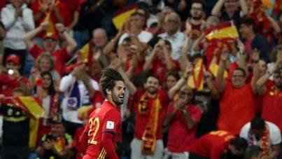 Isco acerca a España al Mundial con Marco Asensio titular