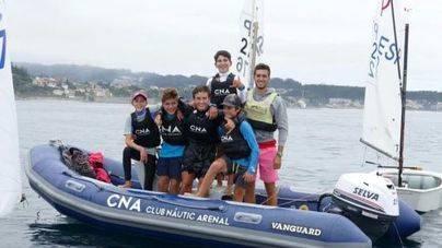 El equipo del Club Nàutic del Arenal, campeón de España de Optimist