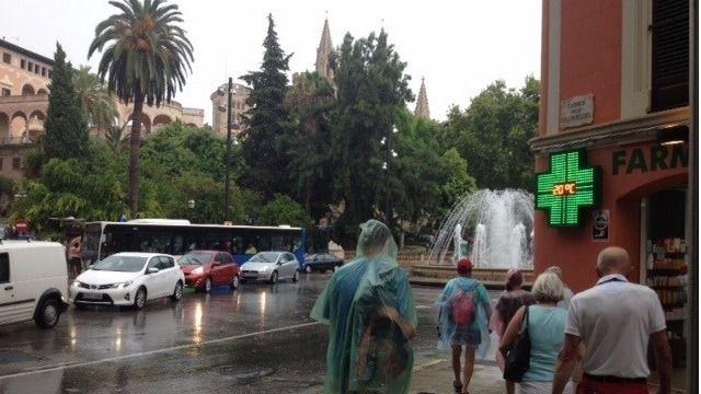 Las tormentas llegan esta semana a Balears