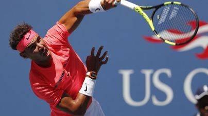 Nadal arrasa y vuelve a cuartos del US Open cuatro años después
