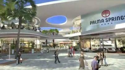 Recreación digital del centro Palma Springs